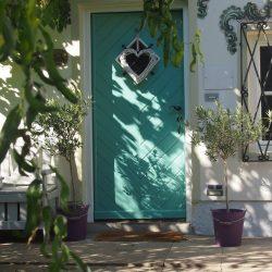 Eingang Ferienwohnung Gartenglück